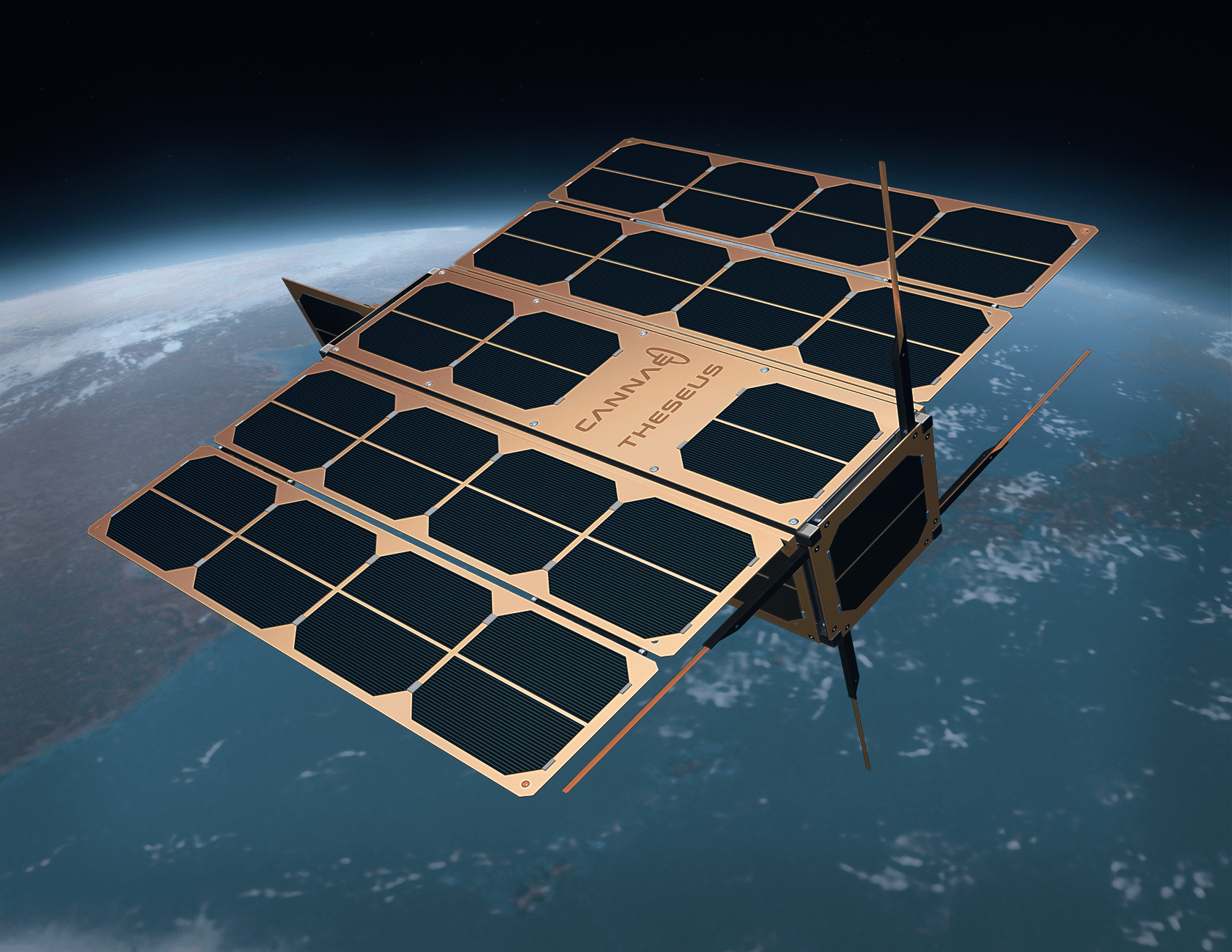 Cannae is developing a 3U cubesat